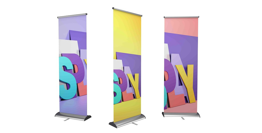 Roll-up stojany a X-bannery
